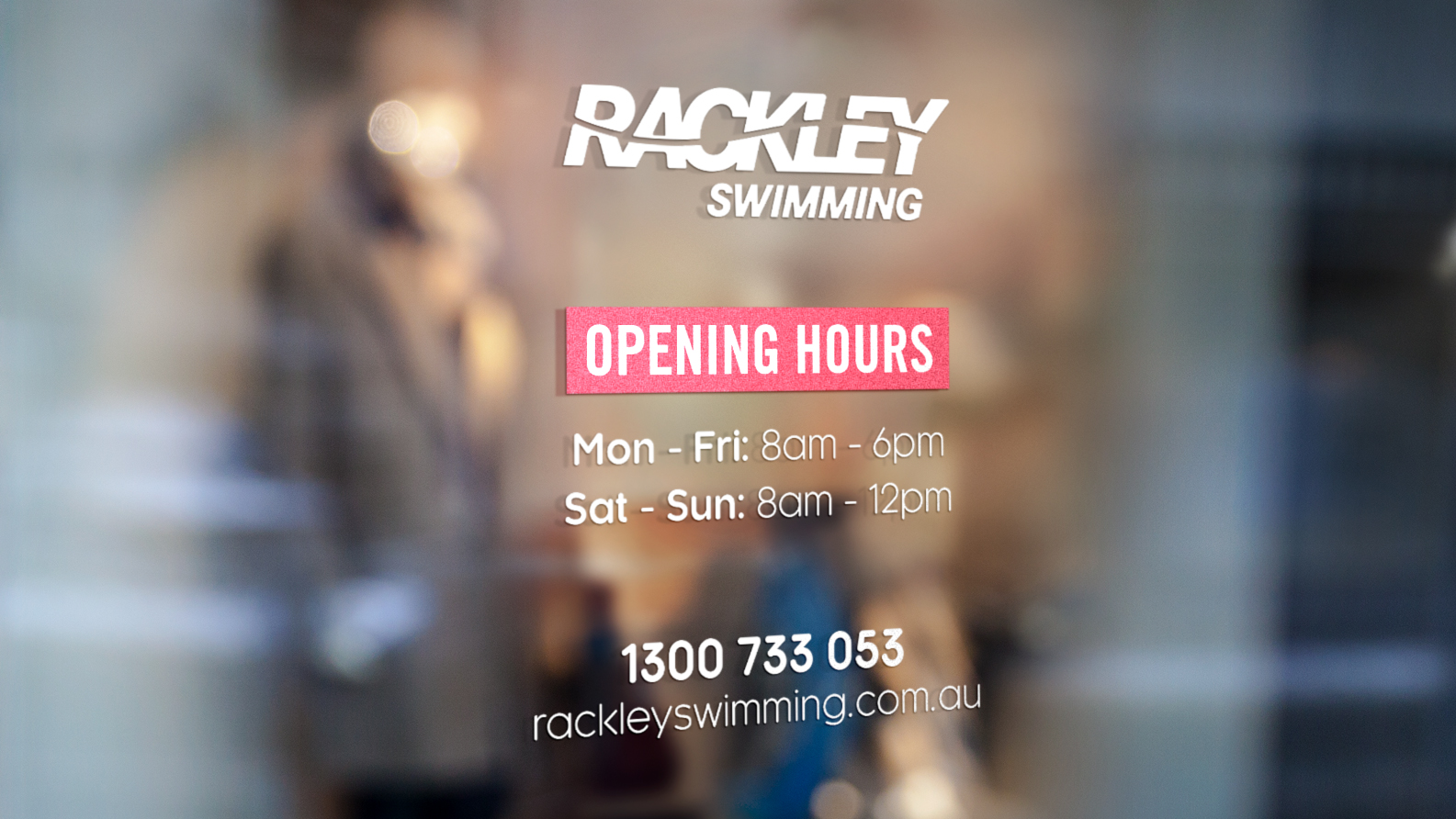 Rackley Swimming Signage