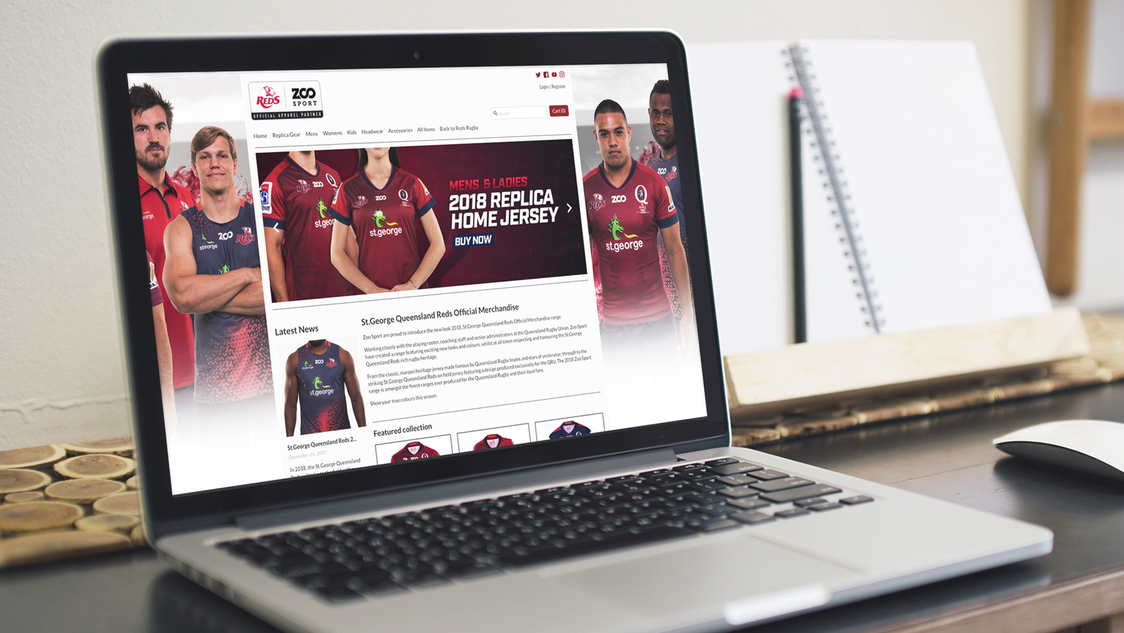 The Queensland Reds Webstore